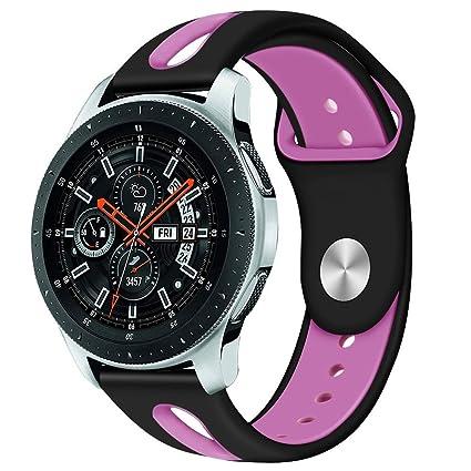 Amazon.com: Fiaya for Samsung Galaxy Watch, 20mm Silicone ...
