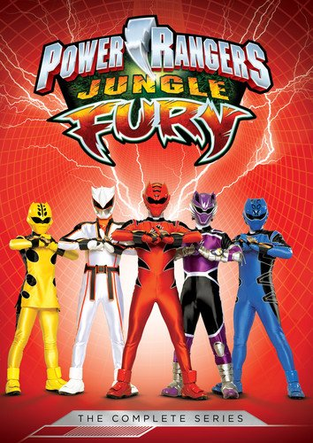 Power Rangers: Jungle Fury: The Complete Series -