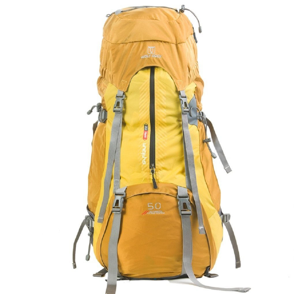 M?nnliche und weibliche Modelle im Freien Bergtaschen Reisetasche Umh?ngetasche professionelle Trekking-Paket