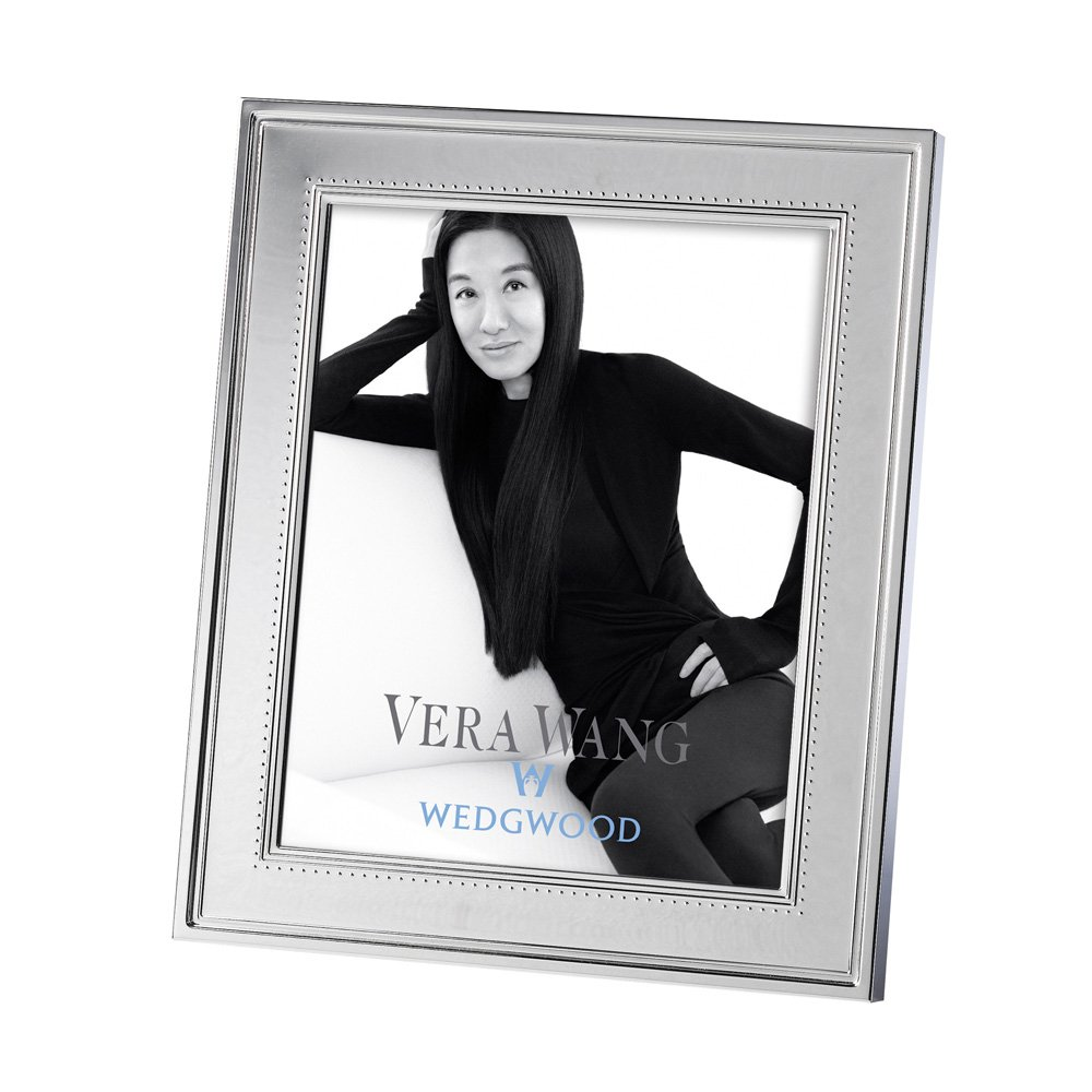 Amazon.de: Vera Wang by Wedgwood Bilderrahmen 13 x 18 cm Seide ...