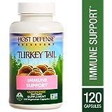 Host Defense - Turkey Tail Capsules, Mushroom Support for Immune Response, 120 Count (FFP)