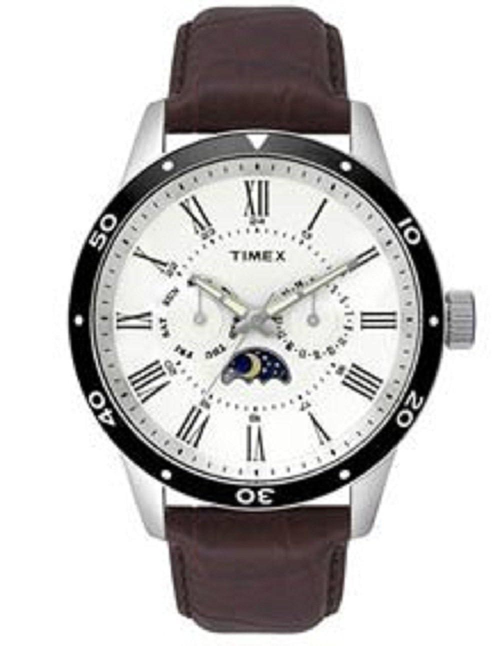 4f6417a8c66 Timex Analog Silver Dial Men's Watch - TWEG14700