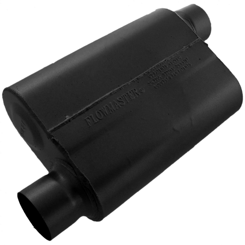 Aggressive Sound Flowmaster 953048 Super 40 Muffler 3.00 Offset IN 3.00 Offset OUT
