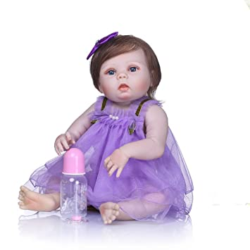 Nicery Reborn Baby Doll High Vinyl 22inch 55cm Magnetic Mouth