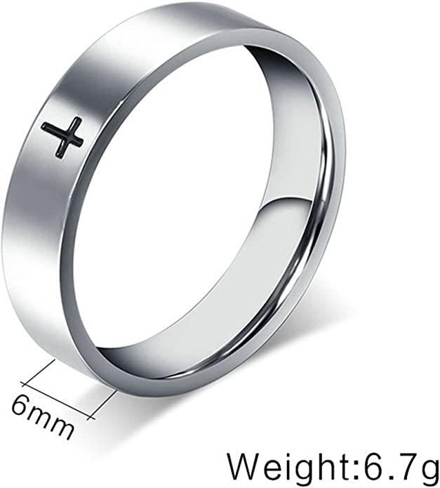 Aienid Rings for Men Sterling Silver Engagement Silver Rings Bands Wedding Ring Heart Sutra