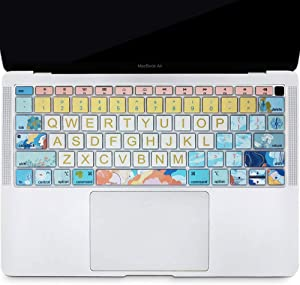 SANFORIN Keyboard Cover Protector for Apple MacBook Air 13 Inch 13.3