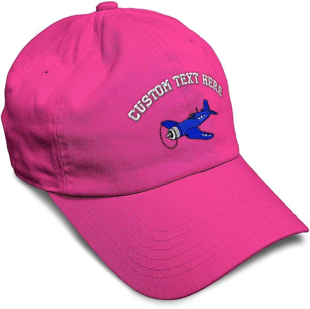 Custom Soft Baseball Cap Aircraft Corsair Embroidery Dad Hats for Men /& Women