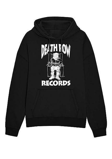 Death Row Records - Record Etiqueta Logo - Oficial Sudadera para Hombre: Amazon.es: Ropa y accesorios