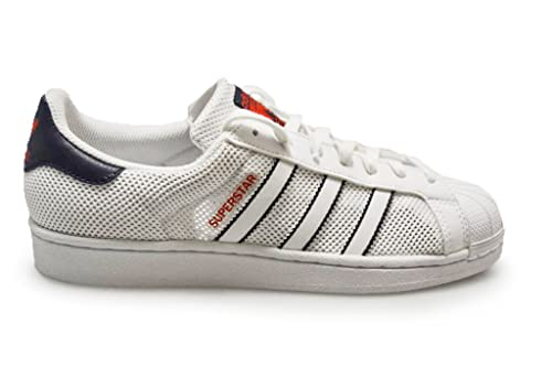 the latest fb0c9 de059 Adidas Originals Superstar Mens Trainers Sneakers Shoes (US 7.5, White Blue  red BB5393)  Buy Online at Low Prices in India - Amazon.in