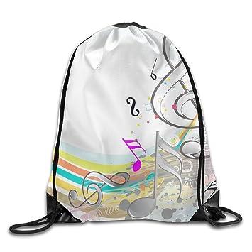Kathleen Nota Impreso, diseño de emoticono sonriente cara suave Casual mochila escolar libro bolsas mochila cordón mochilas para viajar o ir de compras ...
