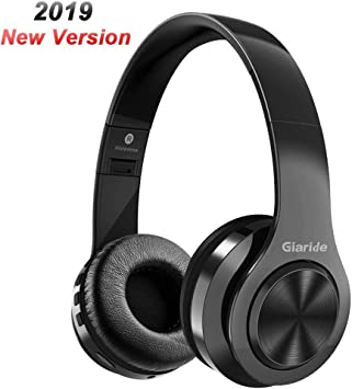 GIARIDE Auriculares Bluetooth Cancelación de Ruido Auriculares inalámbricos estéreo con Entrada de Tarjeta TF, línea Auxiliar, micrófono y Plegable deign para PC,teléfonos celulares,TV: Amazon.es: Electrónica
