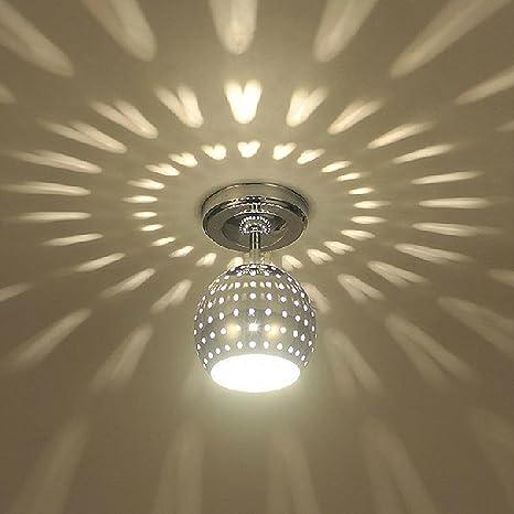 Moderno Chic Dispersión Luz de techo Focos Creativo Metal ...