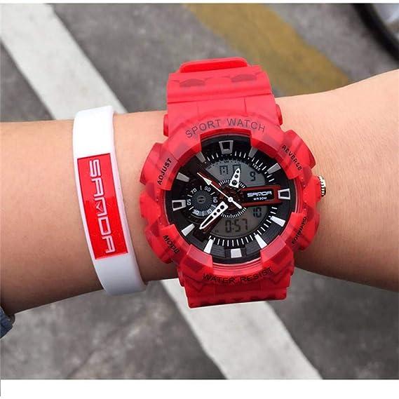 TIANJJ Reloj de Pulsera Reloj Deportivo Mujer Reloj Digital ...