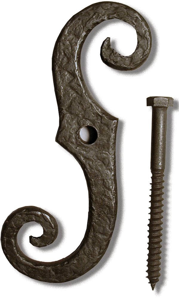 Left Hand Solid Bronze 7 Shutter Dog Coastal Bronze