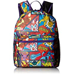 "FAB Starpoint Boys' Character Comic Strip 16"" Backpack, Multi"