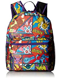"Backpack - Pokemon - 16"" Comic All Over Print School Bag New"