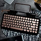 RYMEK Typewriter Style Mechanical Wired & Wireless