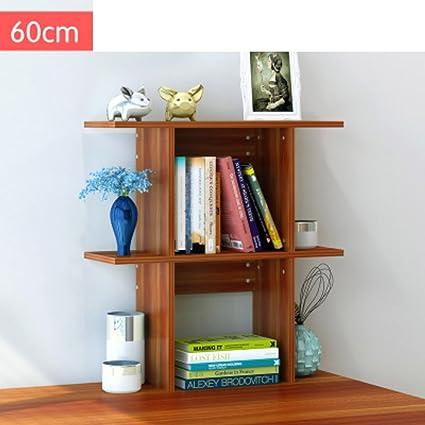 JXBOOS BookshelfDesktop Bookcase Modern Minimalist Ideas Economical Storage Racks Wooden Shelves On The Table