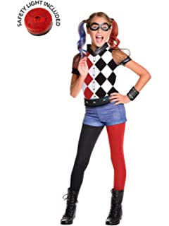 Amazon.com: Rubies Costume Kids DC Superhero Girls Harley ...