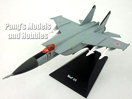 Amazon Mikoyan MiG 25 Foxbat Russian AF 1 150 Scale Diecast Model By DeAgostini Toys Games