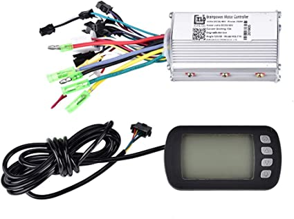 36V-48V 350W Brushless Motor Controller For E-bike Scooter Electric Bicycle