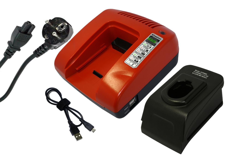PS130A A9252 A9274 PS140A PS120 A9275 A9527 Rouge PS145 PS130 A9282 A9276 PowerSmart/® 7.2-18V Chargeur pour Black /& Decker A9251 PS140 A9262 FSB96 A9267 PS120A