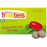 Miracle Frooties - Tiktok Recommended Miracle Fruit Tablets, Turn Sour Foods to Sweet, Taste Tripping, Change Taste Buds. Mir
