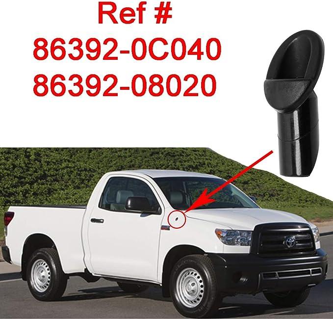 Repuesto perfecto de adaptador de antena para Toyota TUNDRA camioneta 07-13, modelos Toyota Sienna (Referencia #86392-0C040,86392-08020)