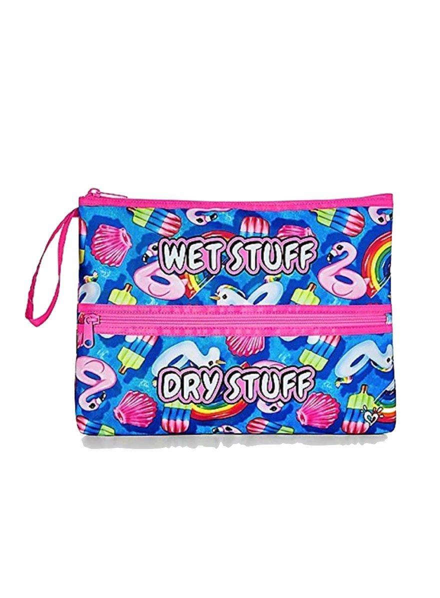 Justice Swim Beach Bikini Clutch Bag for Girls Pool Floatie