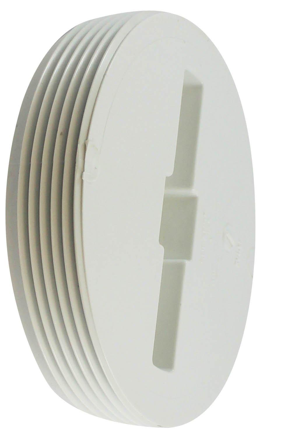 Canplas 193064 Flush Cleanout Plug, 4-Inch
