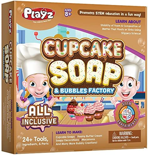 Playz Cupcake Bubbles Science Factory product image