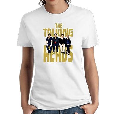 91786262 Amazon.com: Talking Heads Cotton Womens Youth T Shirt Pop Tees Short Sleeve  White: Clothing