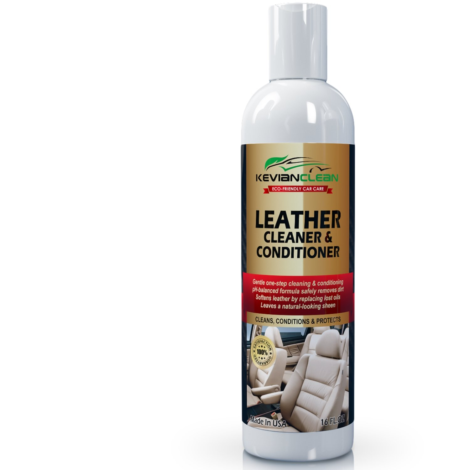 Leather Cleaner amp Conditioner by KevianClean Auto  : 61babU51HBLSL1500 from www.ebay.com size 1500 x 1500 jpeg 111kB