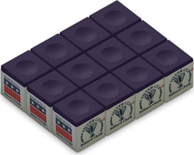 Silver Cup SC-12-PURPLE Chalk Dozen Box Purple