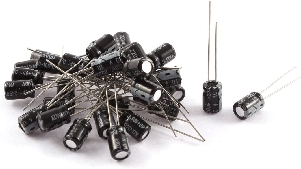16 volt radial capacitor 300-220 mfd