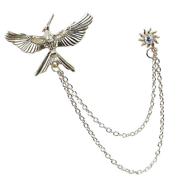 Fashion Jewelry Elegant Musique Symbole Broche Broches col pins Metal Tassel
