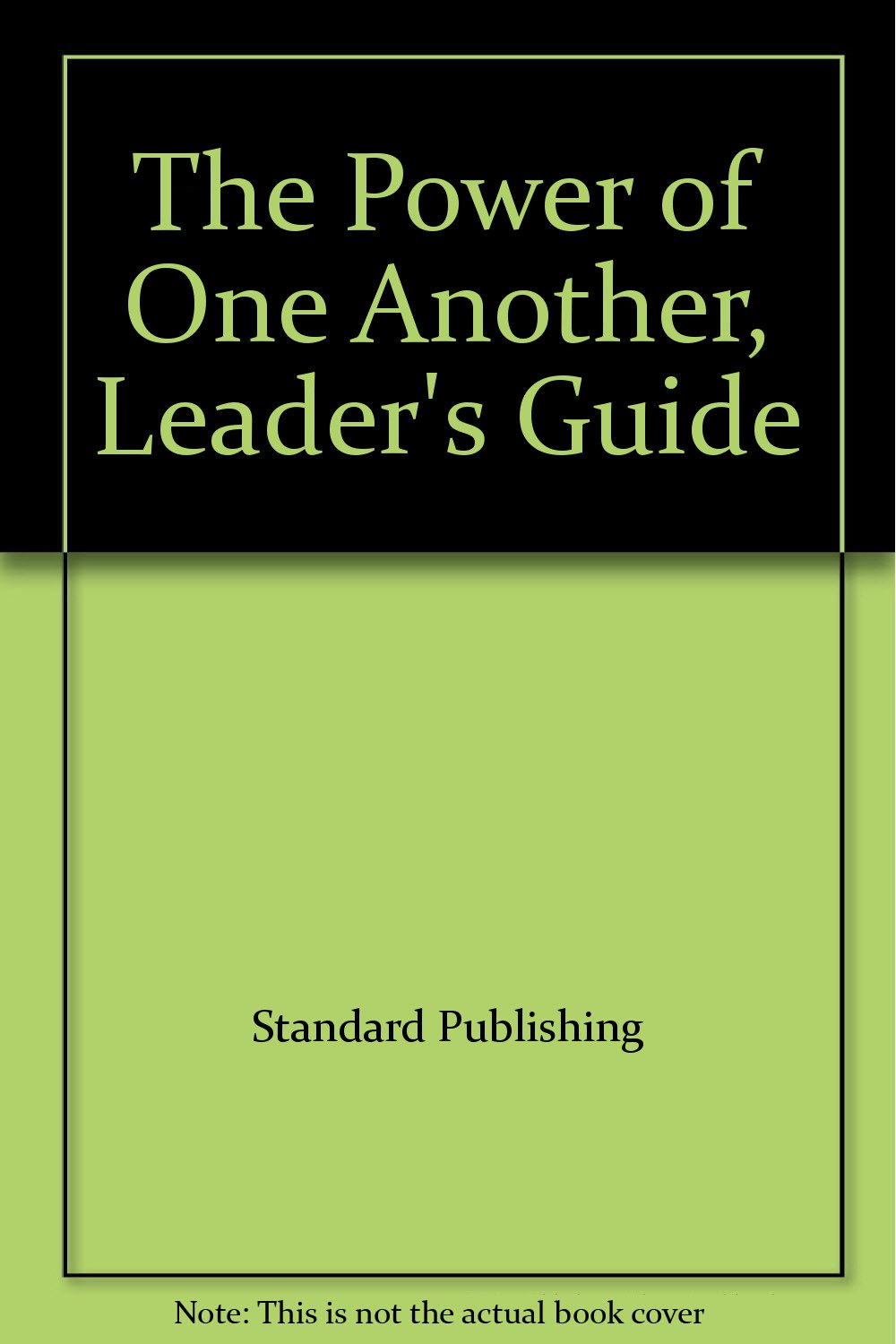 Download The Power of One Another, Leader's Guide pdf epub