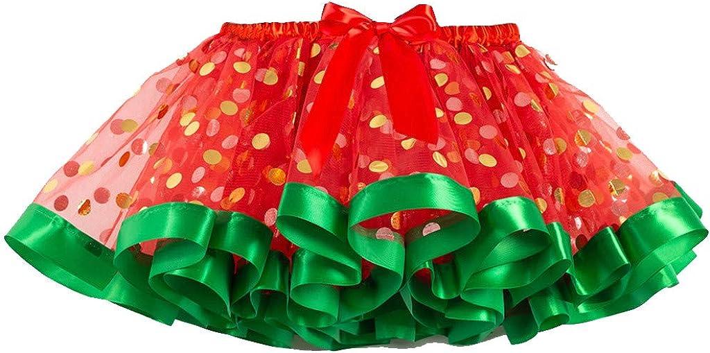 Andouy Girls Kids Tutu Party Dance Ballet Baby Costume Skirt+Headband Set