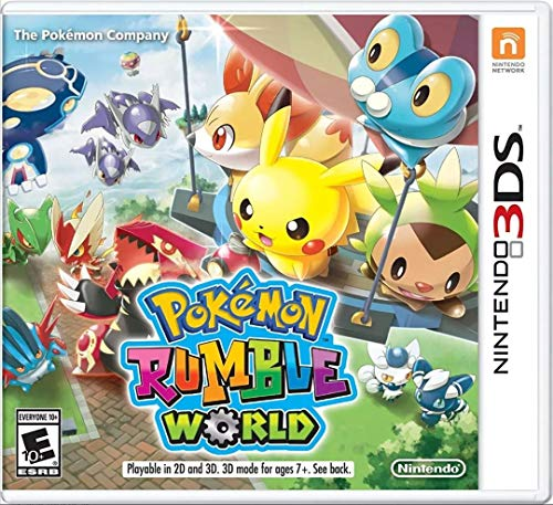 Pokemon Rumble World - Nintendo 3DS Standard Edition (Pokemon Rumble Best Pokemon)