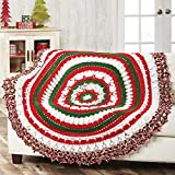 Herrschners® Rockin' Around Christmas Crochet Afghan Kit