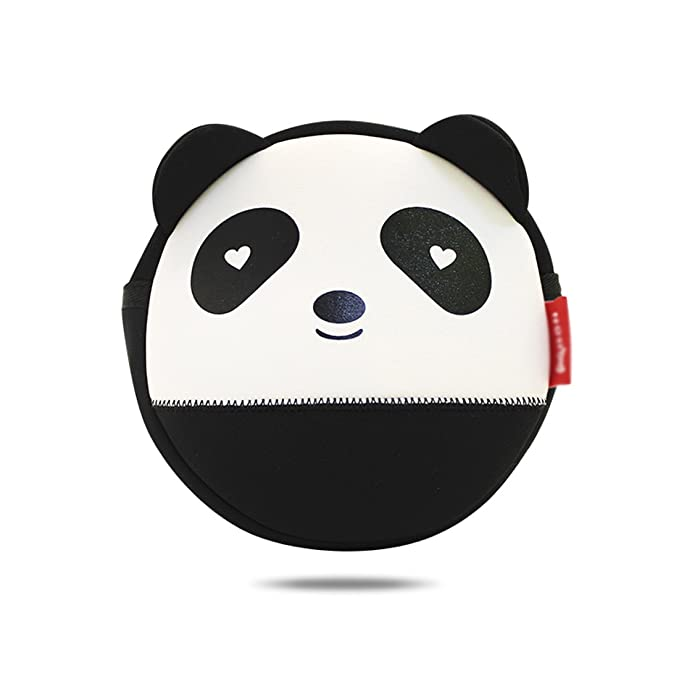 4df00fe2ab1a Image Unavailable. Image not available for. Color  Nohoo Kids shoulder bag  3D Cute Zoo Cartoon School panda crossbody