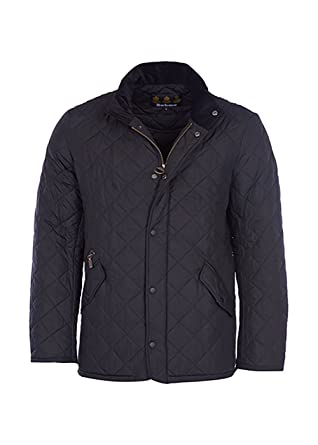 Barbour Mens Chelsea Quilted Long Sleeves Basic Jacket At Amazon