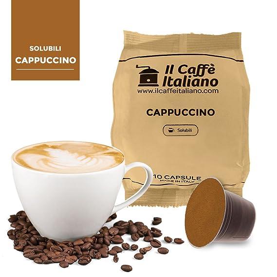 80 cápsulas compatibles Nespresso - Cappuccino - Il Caffè italiano - FRHOME