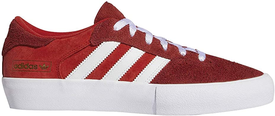 adidas Mens Matchbreak Super Sneakers Shoes - Red
