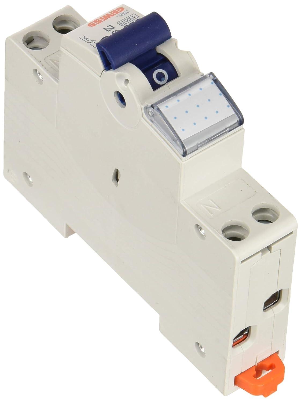 Blanc Gewiss Gw90029/coupe-circuits/ /Disjoncteurs