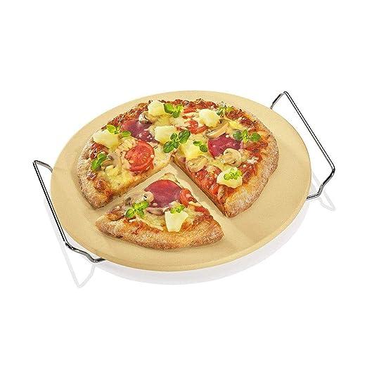 Berndes P502028 - Piedra para Pizza con Estante: Amazon.es: Hogar