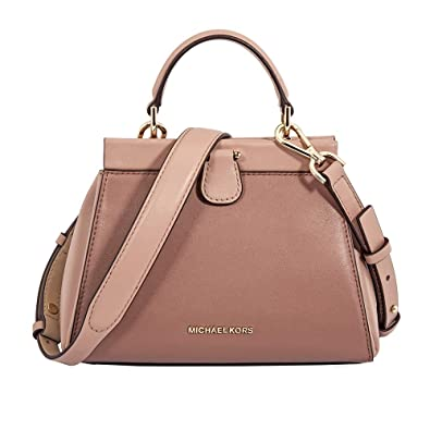 6af8e9796907 Amazon.com  MICHAEL Michael Kors Gramercy Frame Top Handle Color-Block Leather  Satchel Bag
