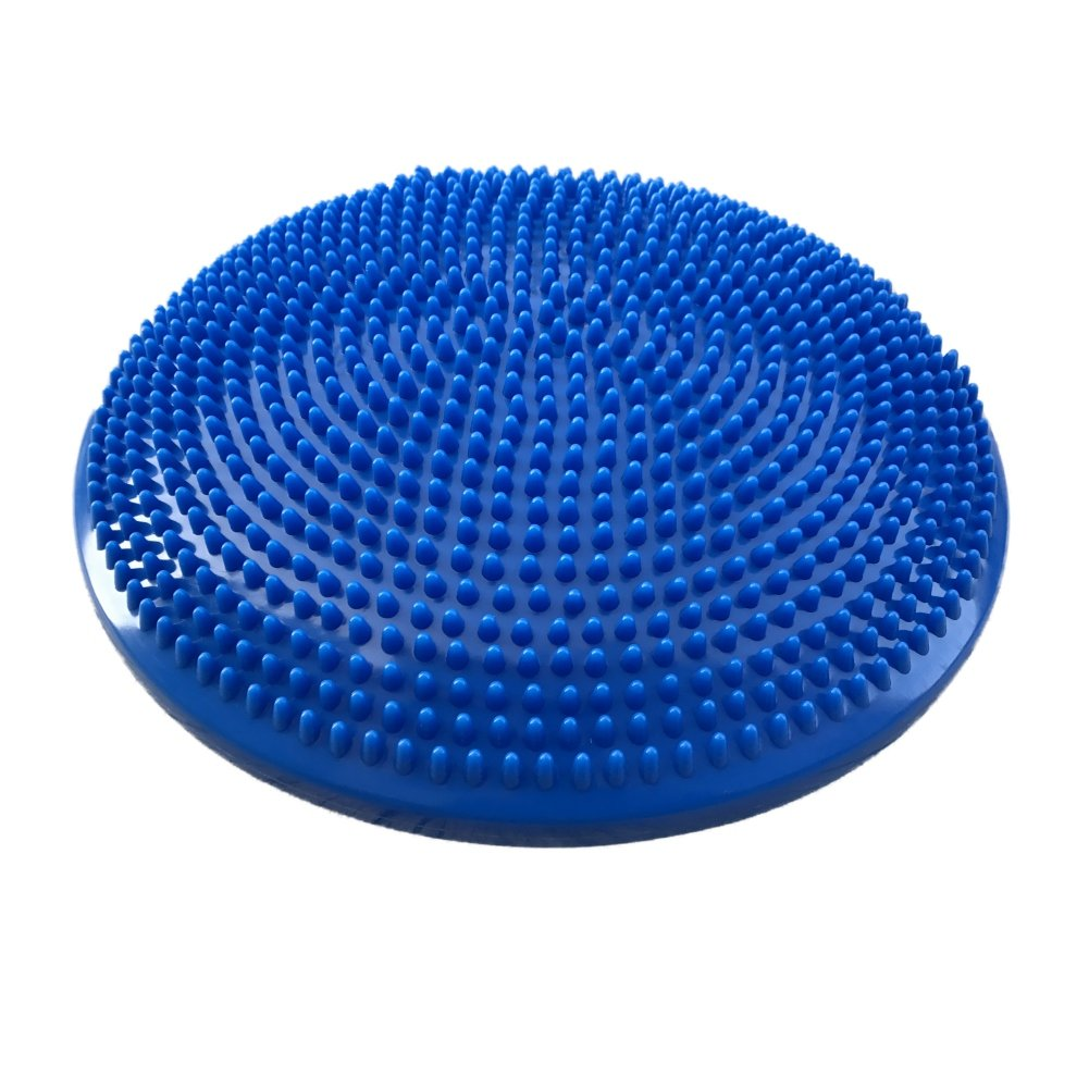 Doubleer Gymnastikball, dick Yoga Ball Stuhl Anti-Burst Balance Stabilitätsball mit Schnellpumpe