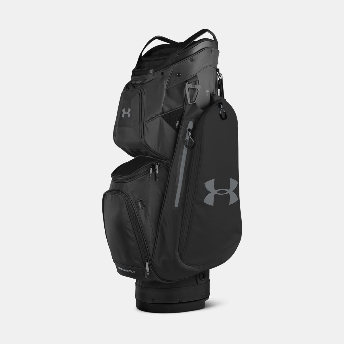 [UNDER ARMOUR] アンダーアーマー Men's UA Storm Armada Cart Bag Black [並行輸入品]   B074Z52348