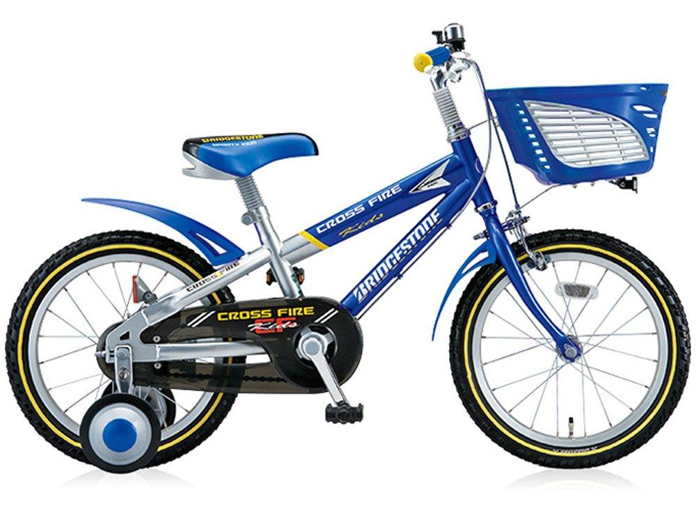 BRIDGESTON CYCLE (ブリヂストンサイクル) クロスファイヤーキッズ18 CK186 キッズバイク ブルー シルバー 2723   B01D2GUVH0